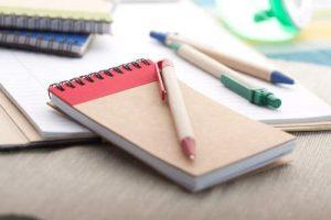 Eco notitieboek bedrukken